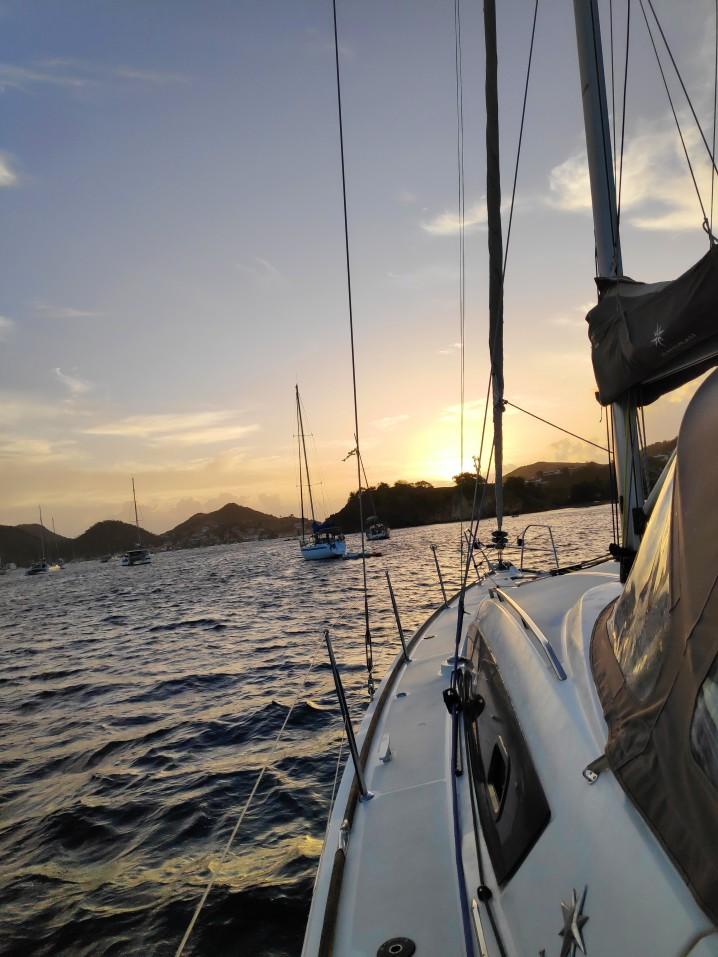 bateau au Guadeloupe