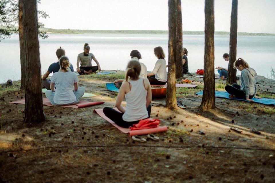 camp de yoga