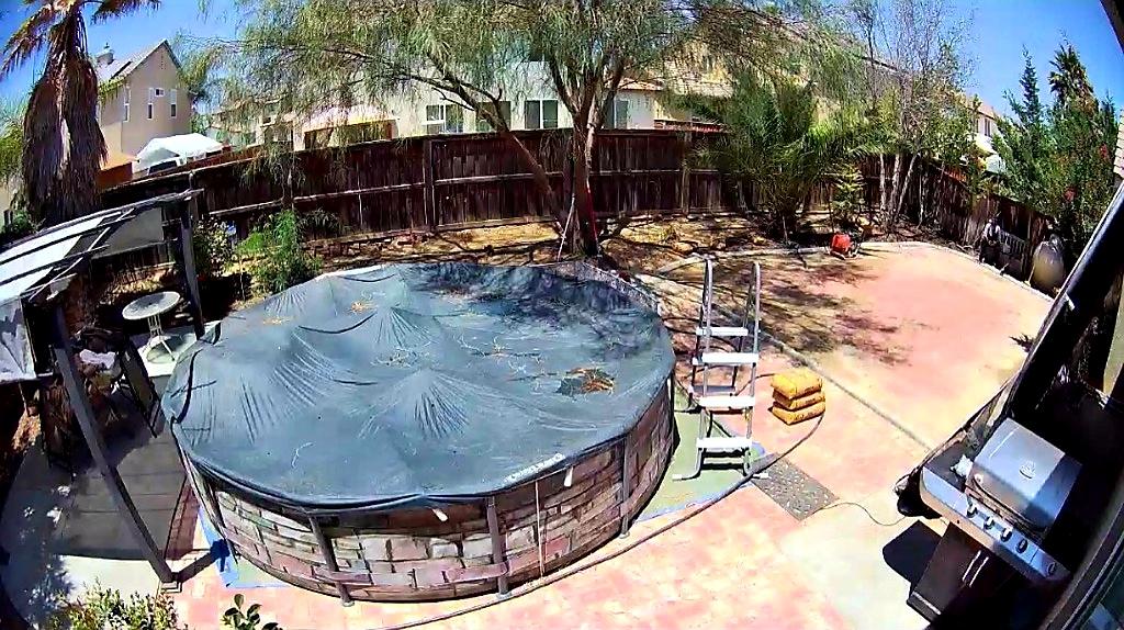 couverture piscine hors sol