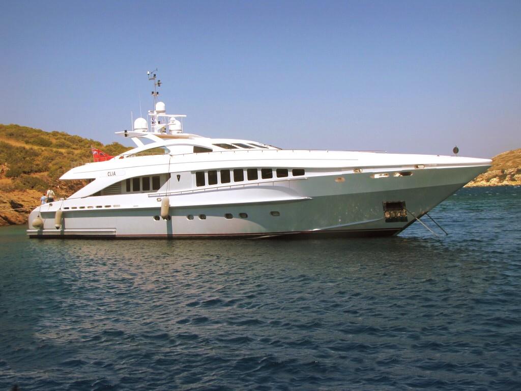 croisière sur yacht
