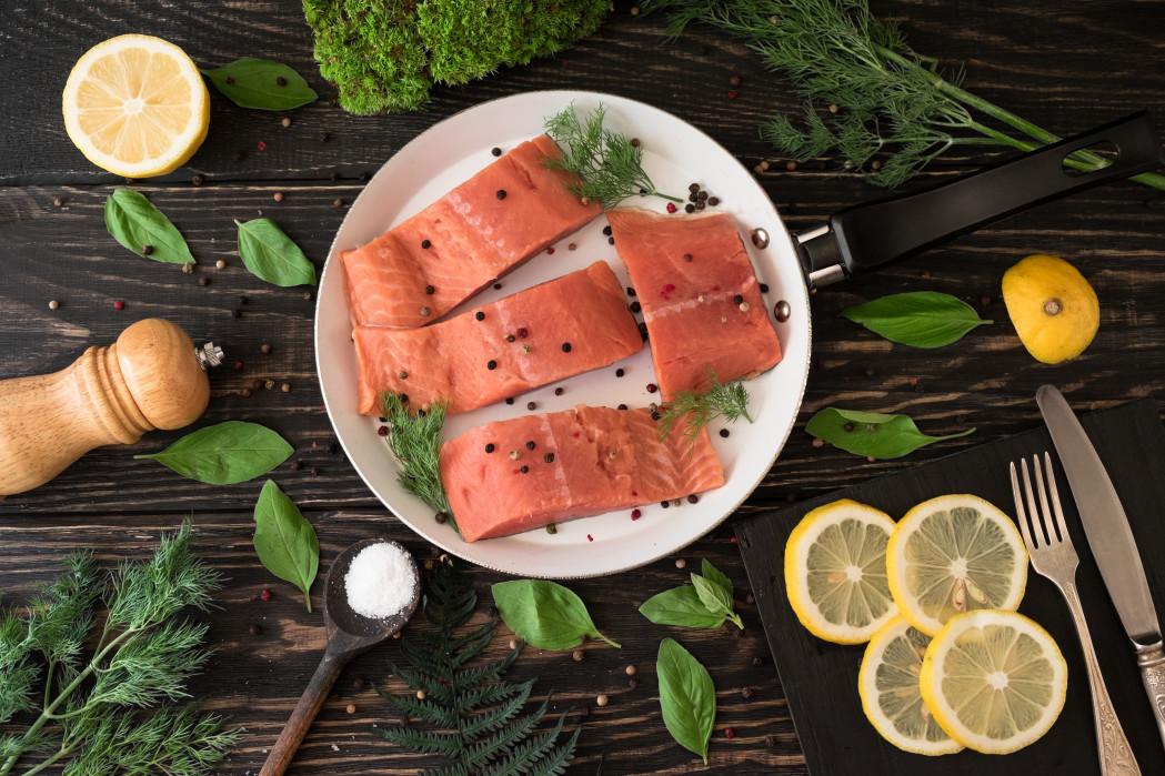 délicieux saumon