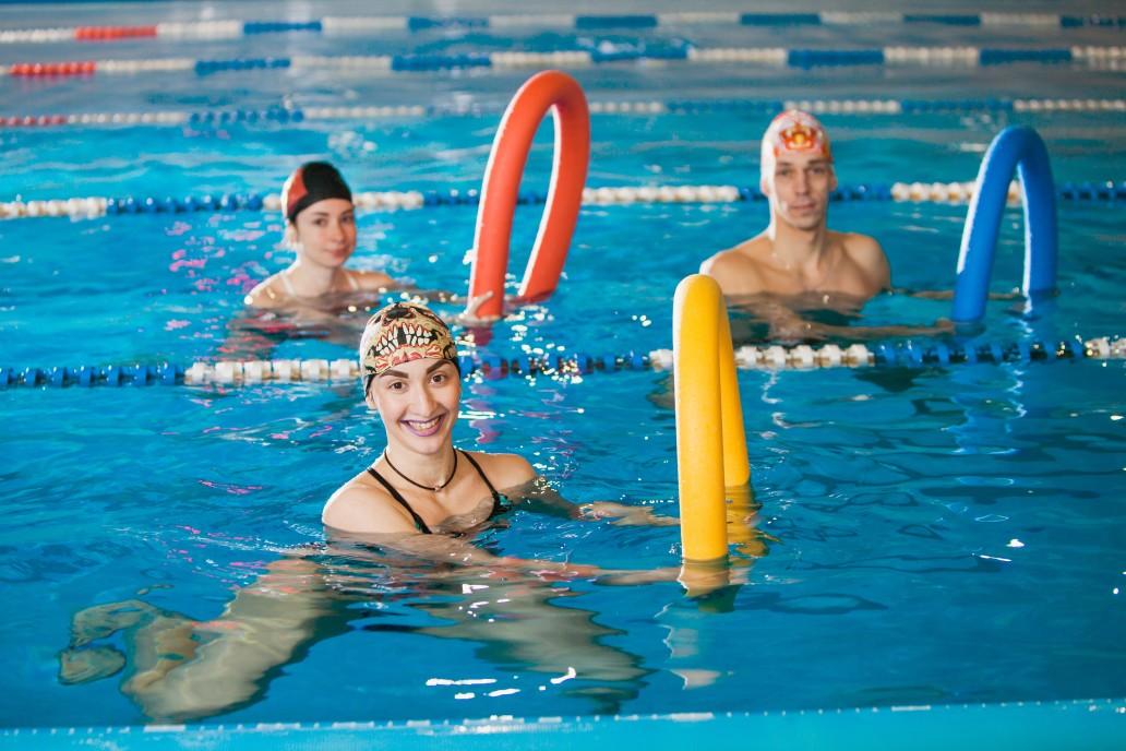 entrainement natation amusant