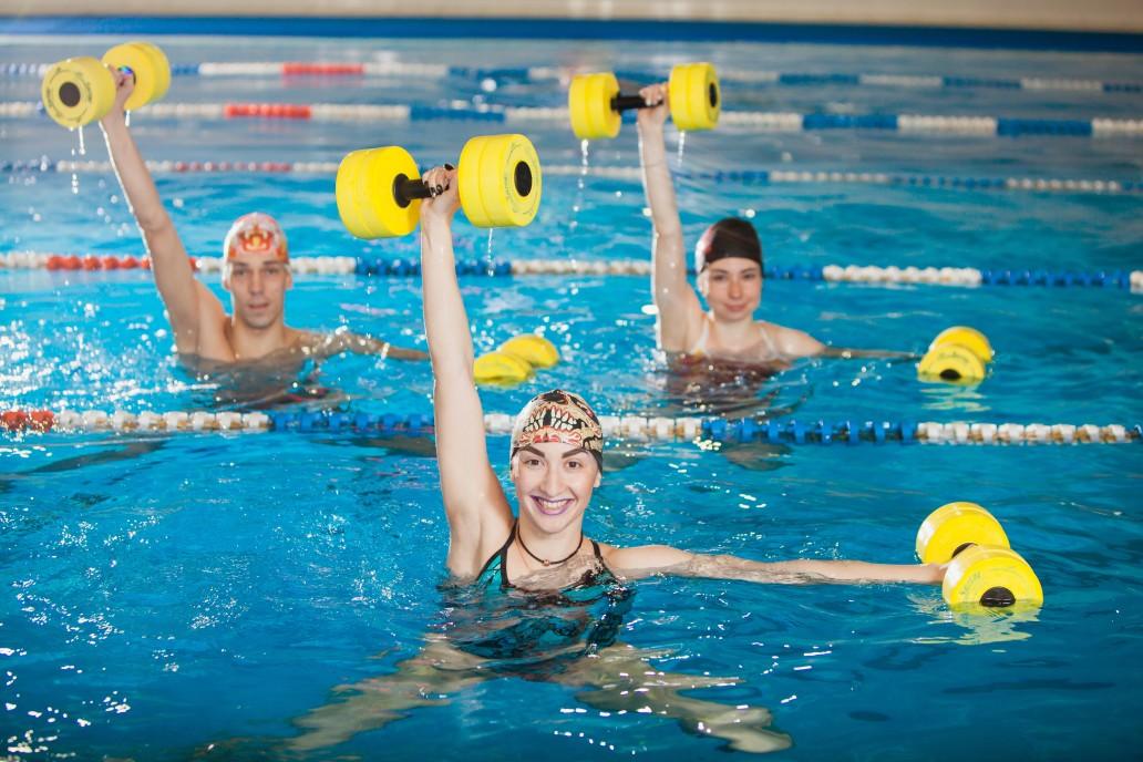 entrainement piscine