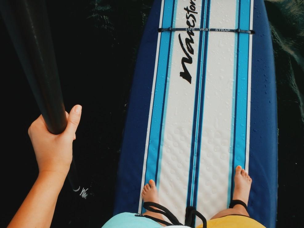 équipement paddle