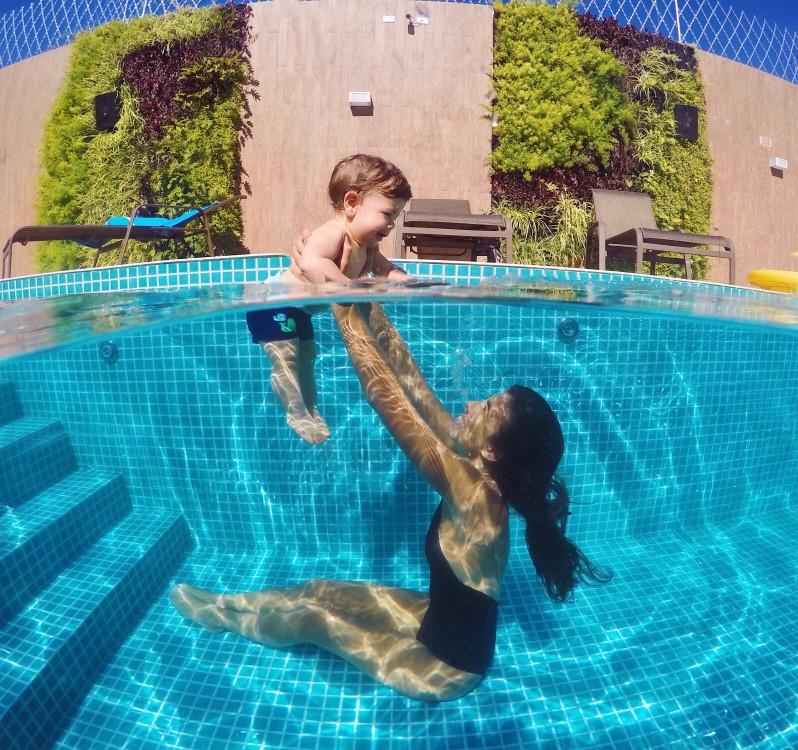 exercice dans l'eau