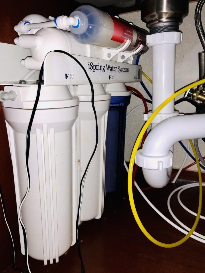filtre à eau à osmose inverse