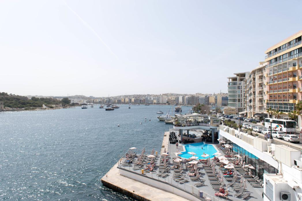hôtel bord de mer Malte
