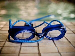 lunette de natation nettoyé