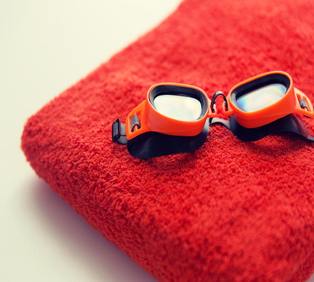 nettoyer lunette de natation