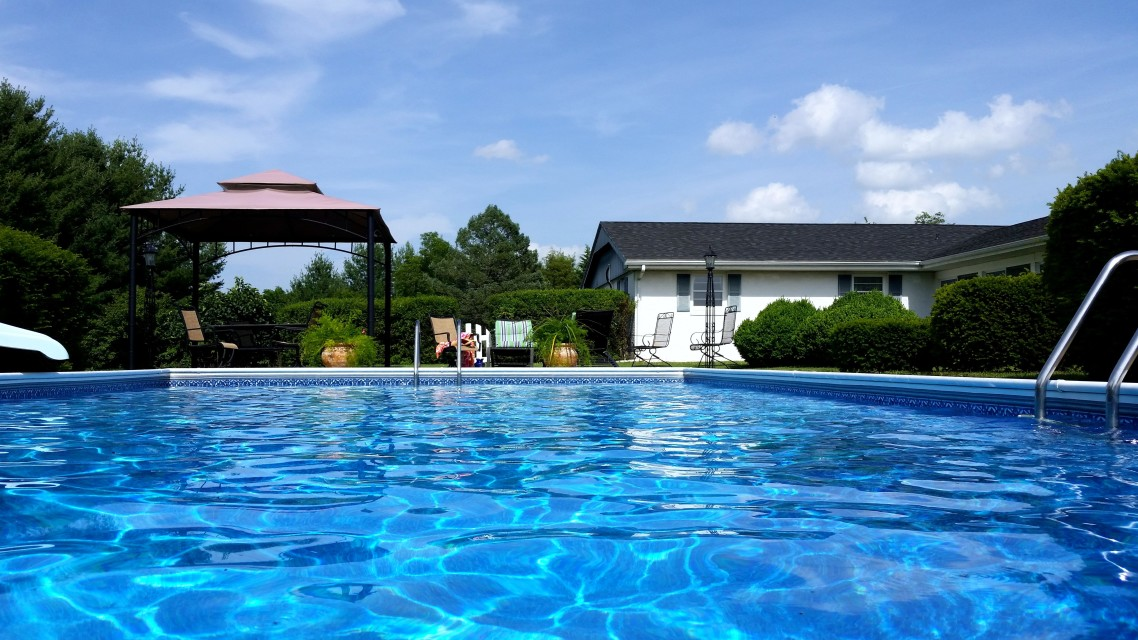 piscine bien entretenu