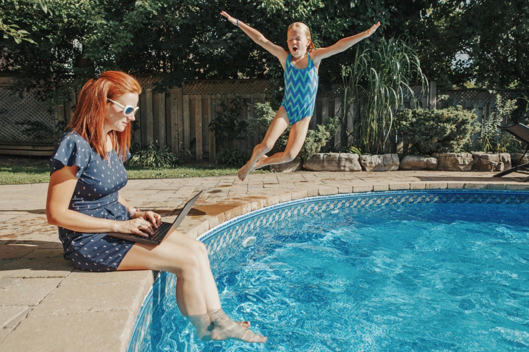 piscine pour famille