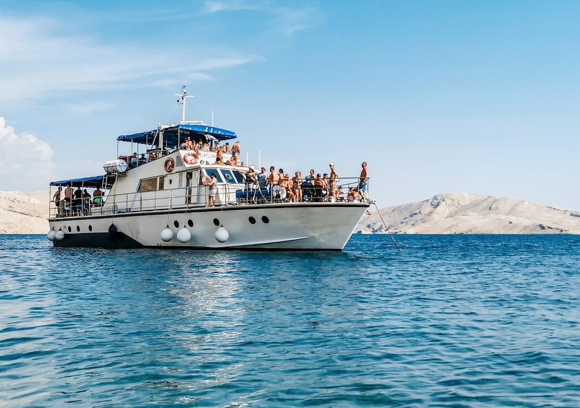 voyage dans la mer Adriatique