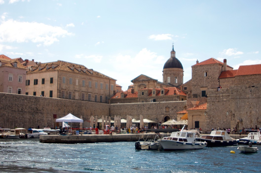 voyage en bateau à Dubrovnik