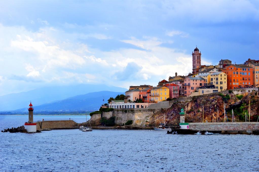 vu de Bastia à Corse